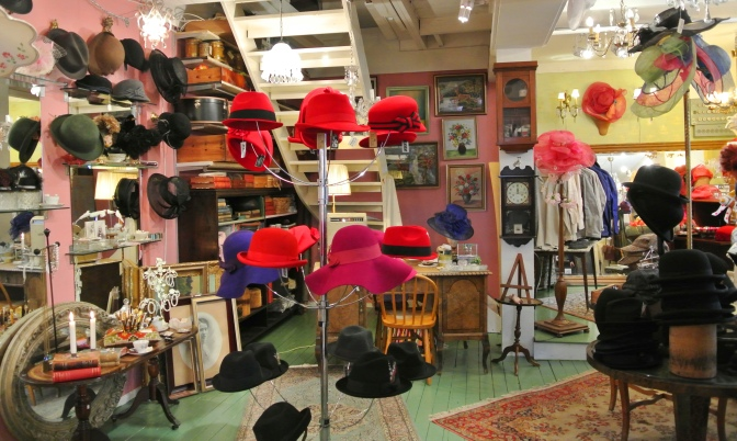"The making and result of a hatshop, in the spirit of  ""The house of Elliot"""